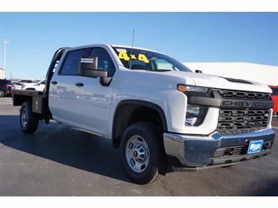 2020 Chevrolet Silverado 2500 Crew Cab 4x4, CM Truck Beds RD Model Platform Body #103300 - photo 4