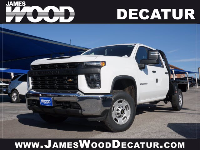 2020 Chevrolet Silverado 2500 Crew Cab 4x4, CM Truck Beds RD Model Platform Body #103315 - photo 1