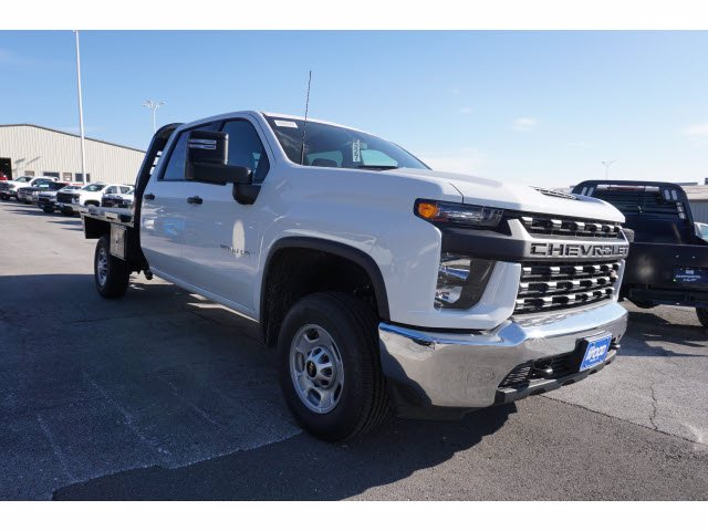 2020 Chevrolet Silverado 2500 Crew Cab 4x4, CM Truck Beds RD Model Platform Body #103315 - photo 3