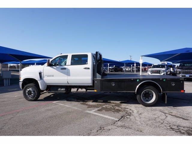 2020 Chevrolet Silverado 5500 Crew Cab DRW 4x4, CM Truck Beds SK Model Platform Body #103327 - photo 7