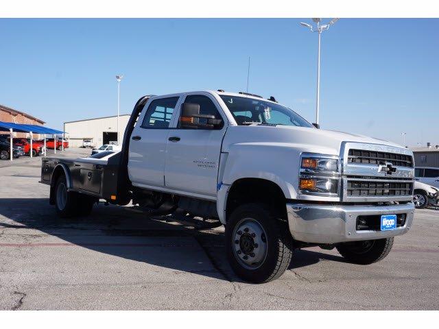 2020 Chevrolet Silverado 5500 Crew Cab DRW 4x4, CM Truck Beds SK Model Platform Body #103327 - photo 3