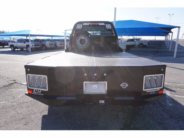 2020 Chevrolet Silverado 5500 Crew Cab DRW 4x4, CM Truck Beds SK Model Platform Body #103327 - photo 6