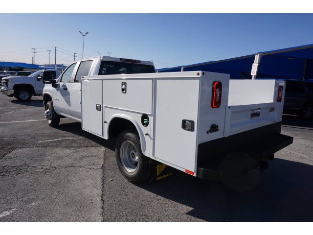 2021 Chevrolet Silverado 3500 Crew Cab AWD, Knapheide Steel Service Body #110965 - photo 2