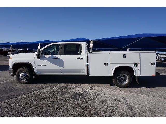 2021 Chevrolet Silverado 3500 Crew Cab AWD, Knapheide Steel Service Body #110965 - photo 6