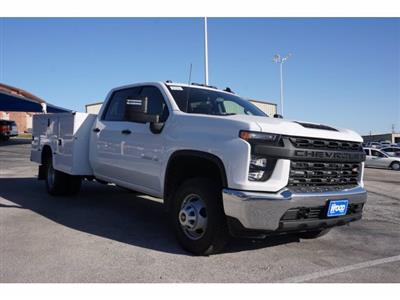 2021 Chevrolet Silverado 3500 Crew Cab AWD, Knapheide Steel Service Body #110965 - photo 3