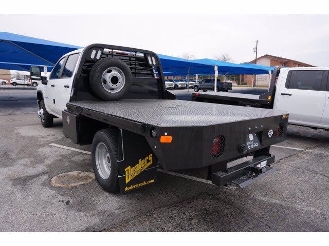 2021 Chevrolet Silverado 3500 Crew Cab 4x2, CM Truck Beds Platform Body #110987 - photo 1
