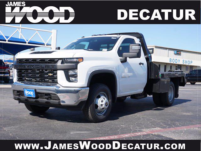 2021 Chevrolet Silverado 3500 Regular Cab AWD, M H EBY Platform Body #111030 - photo 1