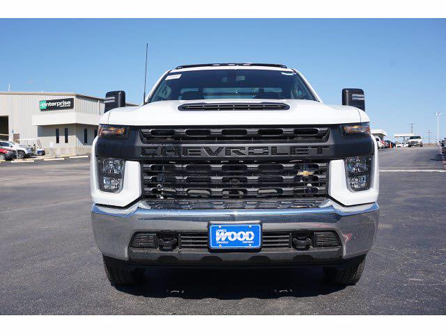2021 Chevrolet Silverado 3500 Regular Cab AWD, M H EBY Platform Body #111030 - photo 3