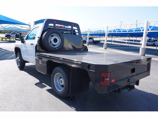 2021 Chevrolet Silverado 3500 Regular Cab AWD, M H EBY Platform Body #111030 - photo 2