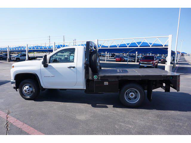 2021 Chevrolet Silverado 3500 Regular Cab AWD, M H EBY Platform Body #111030 - photo 8