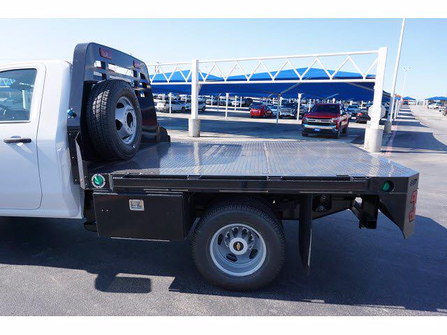 2021 Chevrolet Silverado 3500 Regular Cab AWD, M H EBY Platform Body #111030 - photo 9