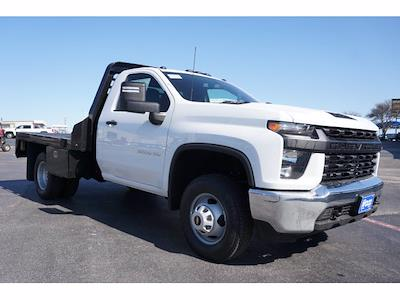2021 Chevrolet Silverado 3500 Regular Cab AWD, M H EBY Platform Body #111030 - photo 4