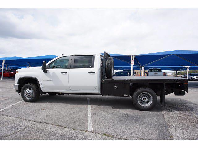 2021 Chevrolet Silverado 3500 Crew Cab AWD, Knapheide PGNB Gooseneck Platform Body #111315 - photo 8