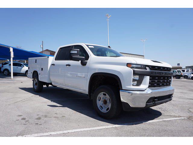 2021 Chevrolet Silverado 2500 Crew Cab 4x2, Knapheide Steel Service Body #111388 - photo 4