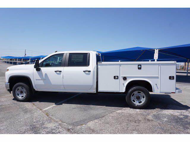 2021 Chevrolet Silverado 2500 Crew Cab 4x2, Knapheide Steel Service Body #111389 - photo 8