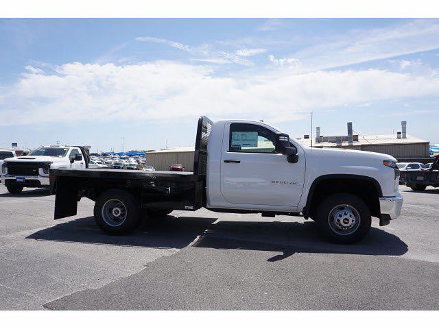 2021 Chevrolet Silverado 3500 Regular Cab AWD, Knapheide PGNB Gooseneck Platform Body #111427 - photo 5