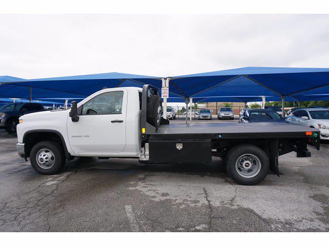 2021 Chevrolet Silverado 3500 Regular Cab AWD, CM Truck Beds Dealers Truck Platform Body #111762 - photo 8