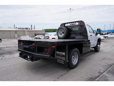 2021 Chevrolet Silverado 3500 Regular Cab AWD, Knapheide PGNB Gooseneck Platform Body #111780 - photo 6