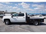 2021 Silverado 3500 Crew Cab AWD,  Platform Body #112265 - photo 8