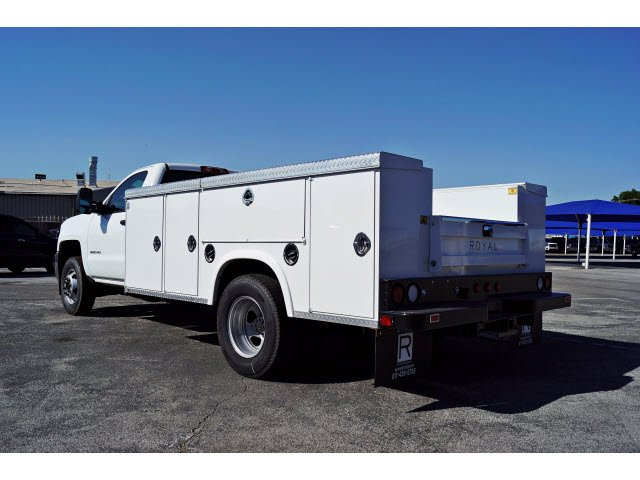 2017 Silverado 3500 Regular Cab DRW 4x2,  Royal Service Body #173317 - photo 2