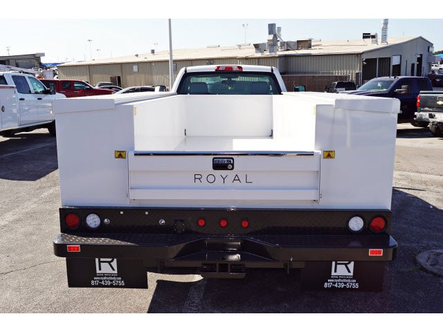 2017 Silverado 3500 Regular Cab DRW 4x2,  Royal Service Body #173317 - photo 3