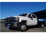 2018 Silverado 3500 Crew Cab DRW 4x4,  CM Truck Beds Platform Body #180610 - photo 1