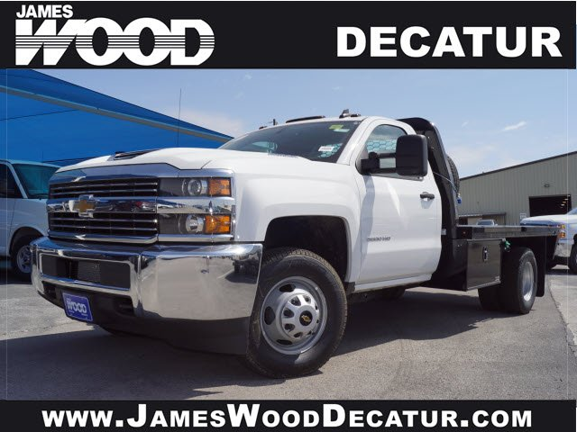 2018 Silverado 3500 Regular Cab DRW 4x4, Knapheide PGNB Gooseneck Platform Body #181594 - photo 1
