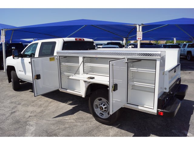 2018 Silverado 2500 Crew Cab 4x2,  Royal Service Body #182042 - photo 3