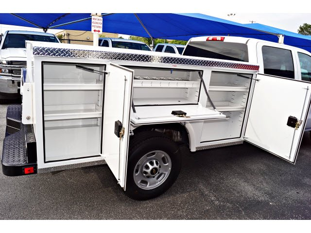 2018 Silverado 2500 Crew Cab 4x2,  Royal Service Body #182045 - photo 3