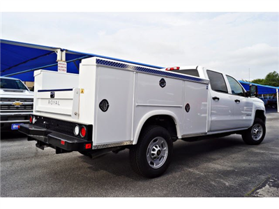 2018 Silverado 2500 Crew Cab 4x2,  Royal Service Body #182045 - photo 2