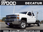 2018 Silverado 2500 Double Cab 4x4,  Cab Chassis #182370 - photo 1