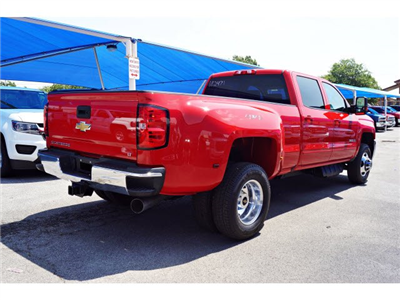 2018 Silverado 3500 Crew Cab 4x4,  Pickup #182471 - photo 4