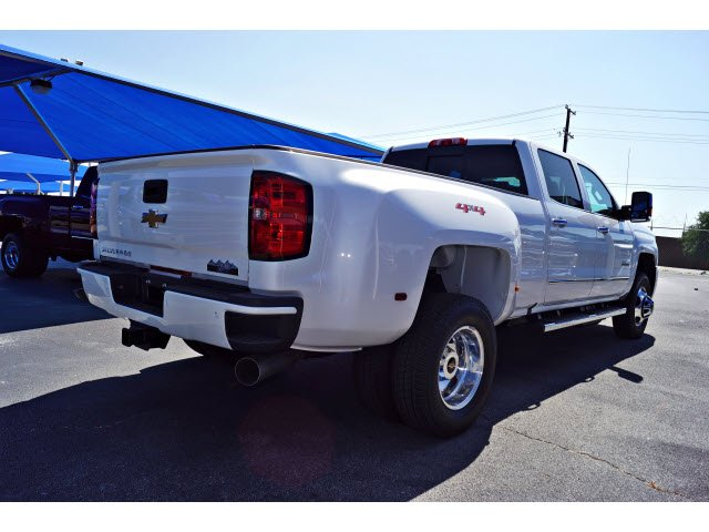 2018 Silverado 3500 Crew Cab 4x4,  Pickup #182490 - photo 4
