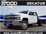 2018 Silverado 3500 Crew Cab DRW 4x4,  CM Truck Beds DT Model Platform Body #182494 - photo 1