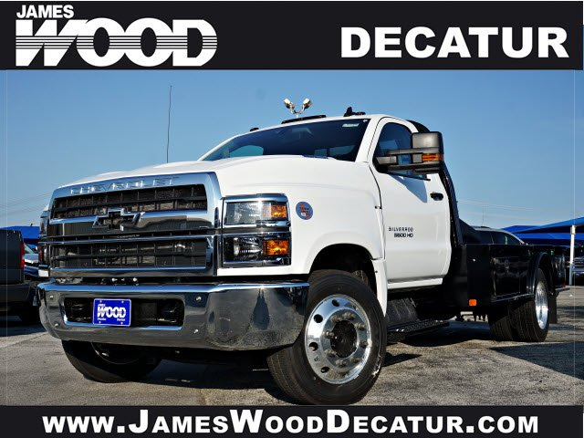 2019 Silverado 5500 Regular Cab DRW 4x2, CM Truck Beds SK Model Platform Body #193008 - photo 1