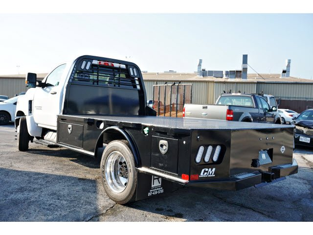 2019 Silverado 5500 Regular Cab DRW 4x2, CM Truck Beds SK Model Platform Body #193008 - photo 2
