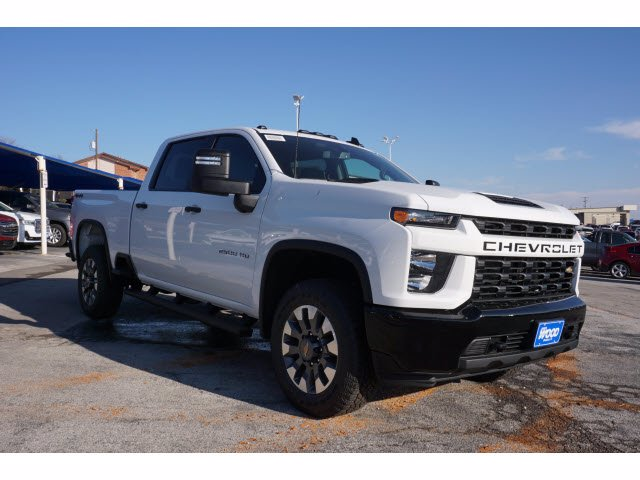 2021 Chevrolet Silverado 2500 Crew Cab 4x4, Pickup #F0754M - photo 3