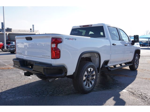 2021 Chevrolet Silverado 2500 Crew Cab 4x4, Pickup #F0754M - photo 4