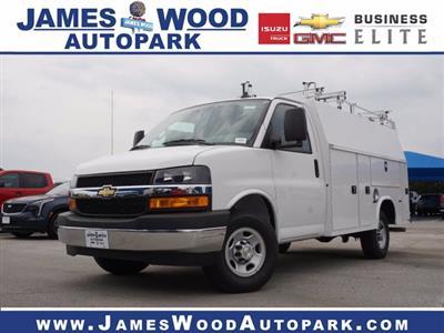 2020 Chevrolet Express 3500 RWD, Knapheide KUV Service Utility Van #202668 - photo 1