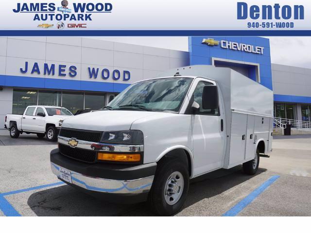 2020 Chevrolet Express 3500 RWD, Knapheide KUV Service Utility Van #202989 - photo 1