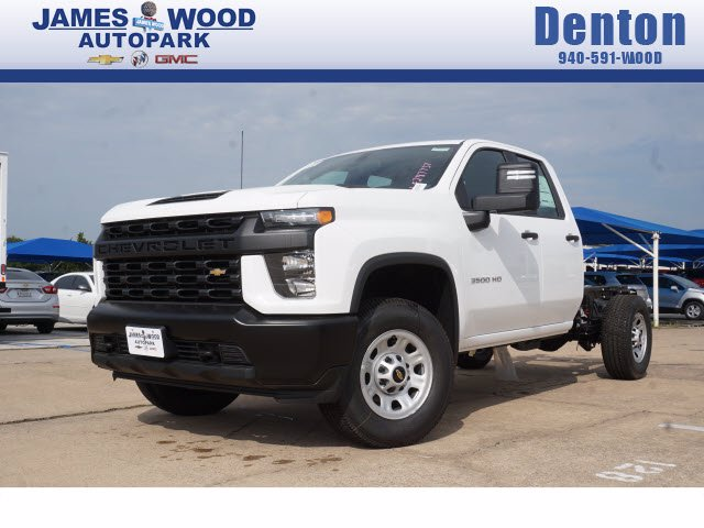 2020 Chevrolet Silverado 3500 Double Cab 4x2, Cab Chassis #203846 - photo 1