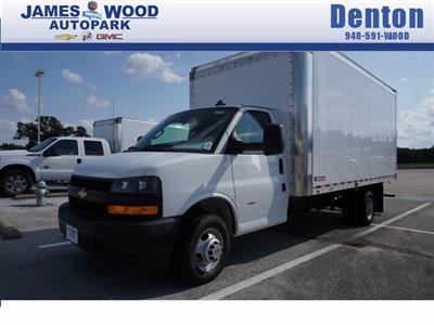 2020 Chevrolet Express 3500 RWD, Morgan Parcel Aluminum Cutaway Van #203974 - photo 1