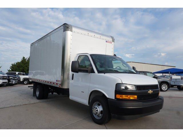 2020 Chevrolet Express 3500 RWD, Morgan Parcel Aluminum Cutaway Van #204196 - photo 4