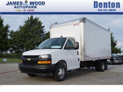 2020 Chevrolet Express 3500 RWD, Morgan Parcel Aluminum Cutaway Van #204196 - photo 1