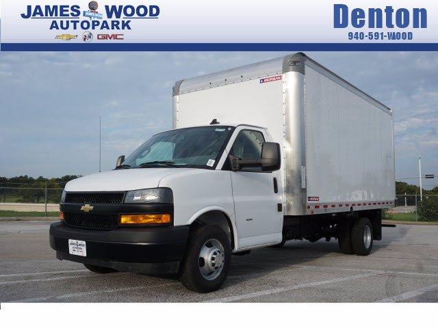 2020 Chevrolet Express 3500 RWD, Morgan Parcel Aluminum Cutaway Van #204198 - photo 1