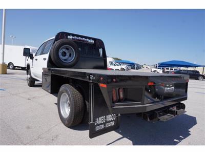 2020 Chevrolet Silverado 3500 Crew Cab DRW 4x4, Knapheide PGNB Gooseneck Platform Body #204521 - photo 2