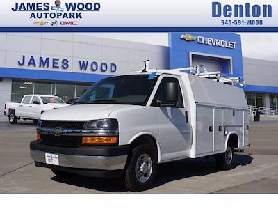 2020 Chevrolet Express 3500 4x2, Service Utility Van #204671 - photo 1