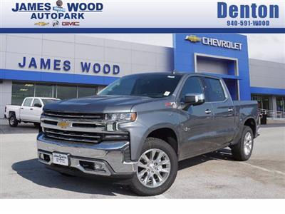 2021 Chevrolet Silverado 1500 Crew Cab 4x4, Pickup #210443 - photo 1