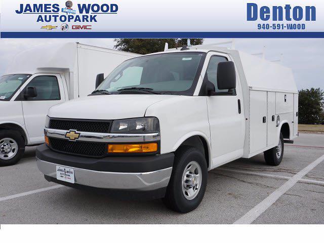 2021 Chevrolet Express 3500 4x2, Knapheide Service Utility Van #211461 - photo 1