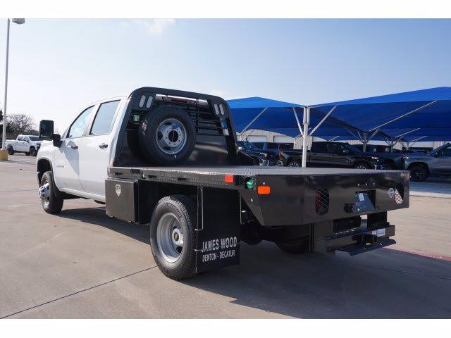 2021 Chevrolet Silverado 3500 Crew Cab AWD, CM Truck Beds Platform Body #211645 - photo 1